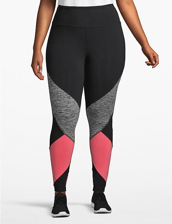 Active 7/8 Legging - Colorblock