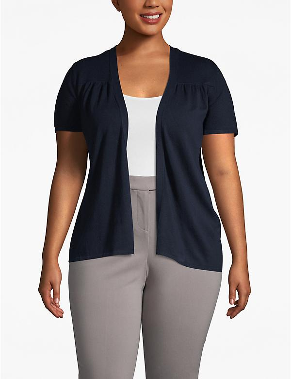Short-Sleeve Shrug