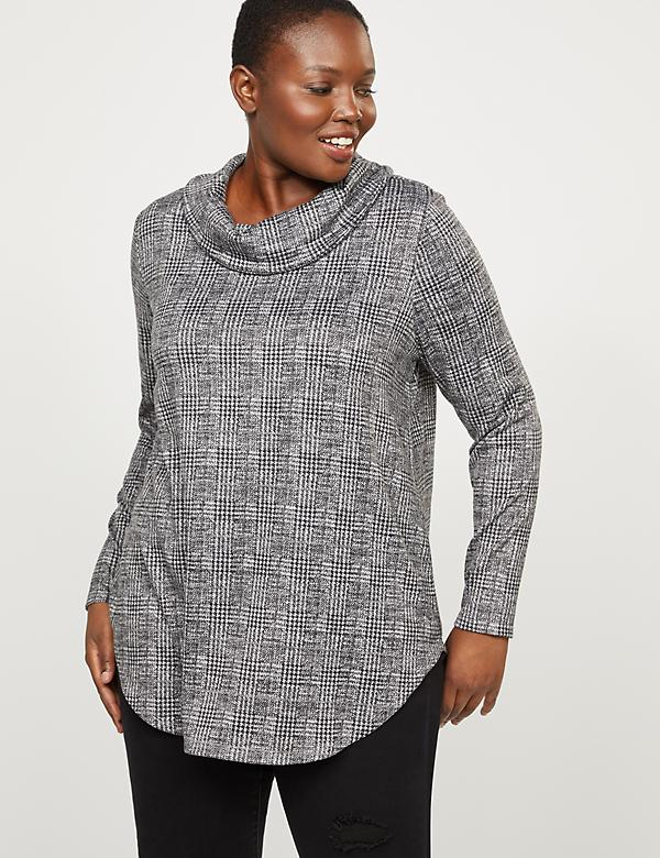 Softest Touch Cowlneck Top