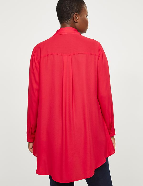 Layered High-Low Tunic Top - alternate image