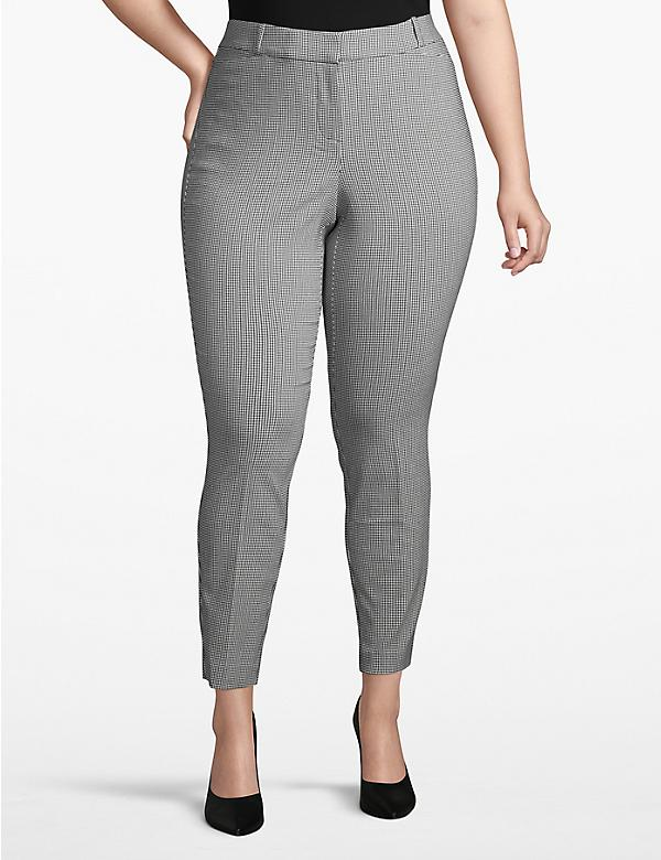 Madison Skinny Pant - Houndstooth