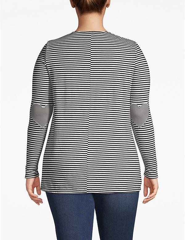Elbow Patch Long-Sleeve Tee