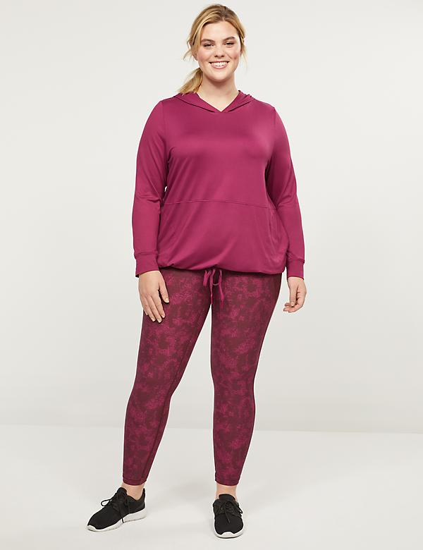 LIVI 7/8 Power Legging With Wicking - Crisscross Hem