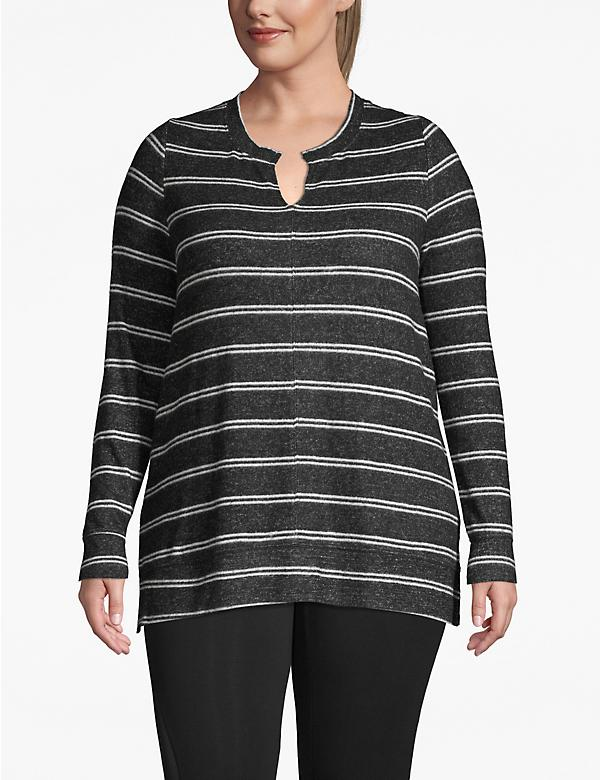 Active Striped Tunic Top