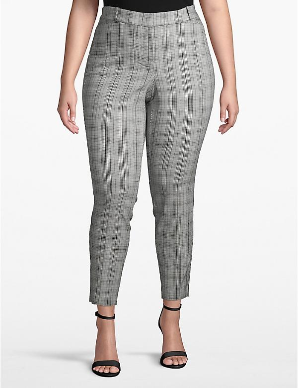Madison Skinny Pant - Plaid