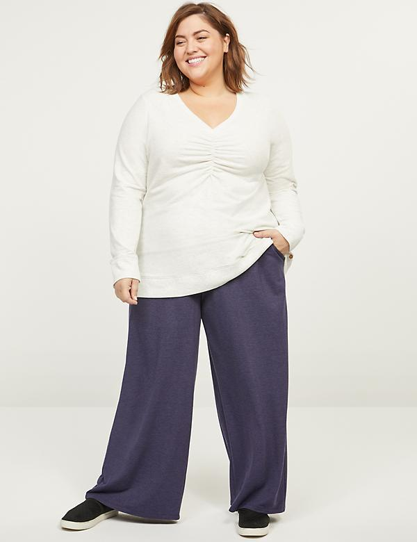 LIVI Wide Leg Pant - French Terry