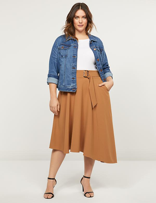 Lena Skirt With Buckle