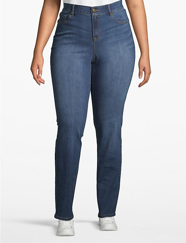 Venezia Straight Jean - Medium Wash
