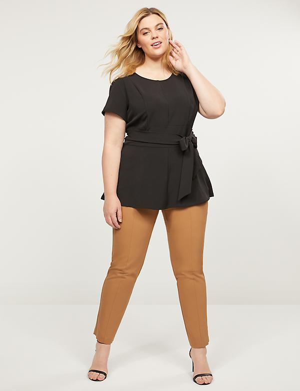 Power Pockets Curvy Allie Modern Stretch Ankle Pant