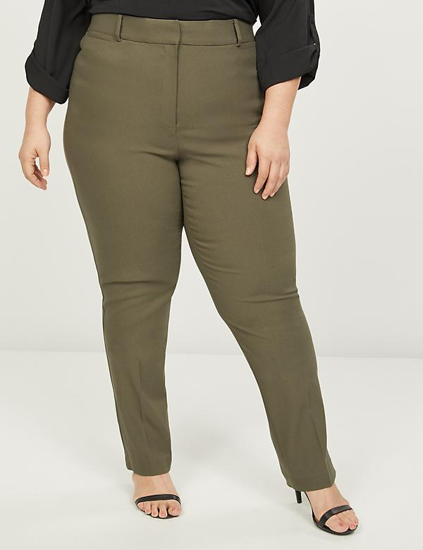 Power Pockets Sexy Stretch High-Rise Straight Pant