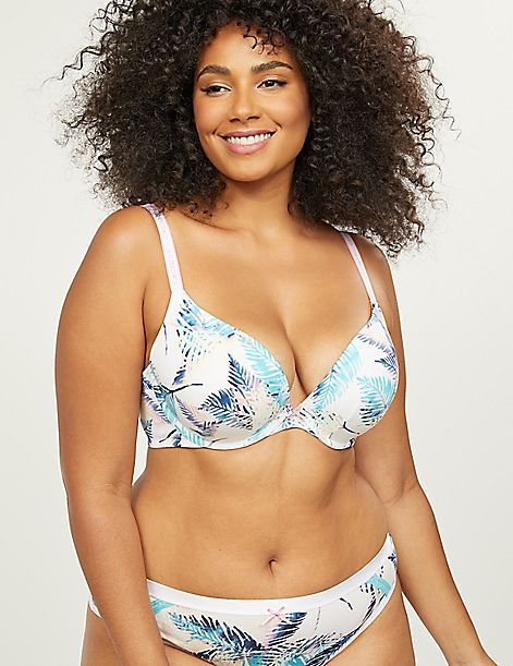 So Light Boost Plunge Bra