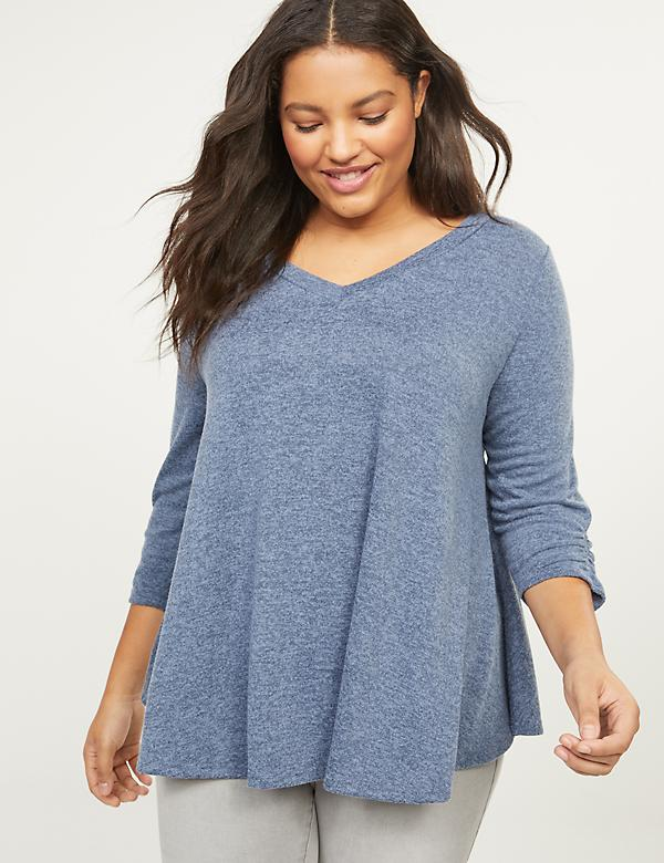 Softest Touch Gathered Swing Top