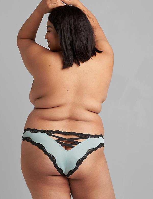 Strappy-Back Tanga Panty