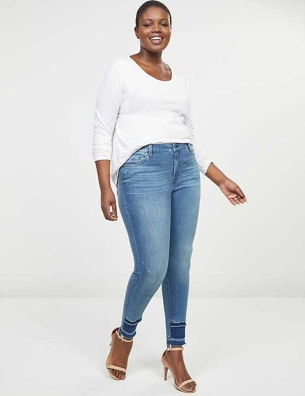 Signature Fit Skinny Jean - Block Hem
