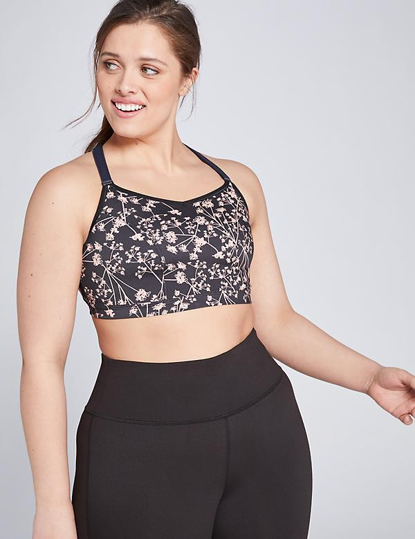 LIVI Active Low-Impact Wicking Sport Bra - Strappy Back
