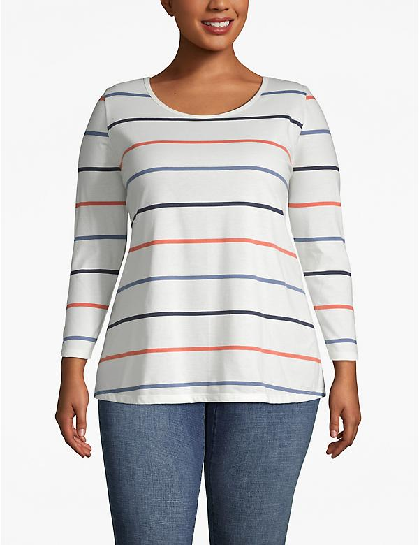Long-Sleeve Swing Tee