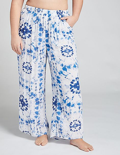 Wide Leg Cover-Up Pant