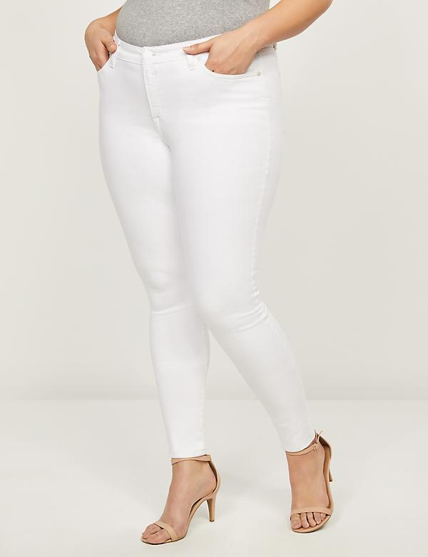 Signature Fit Skinny Jean - White