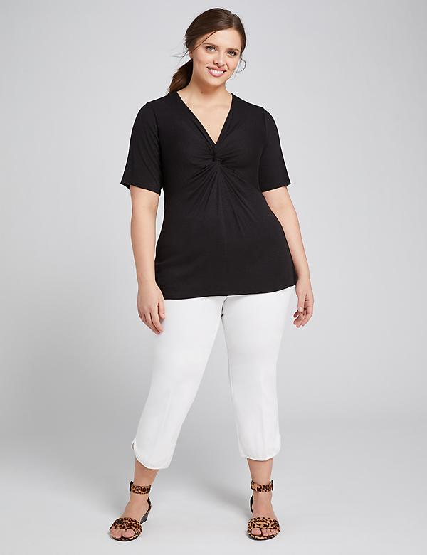 Curvy Allie Smart Stretch Crop