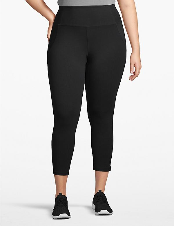 Active Capri Legging - Crisscross Back