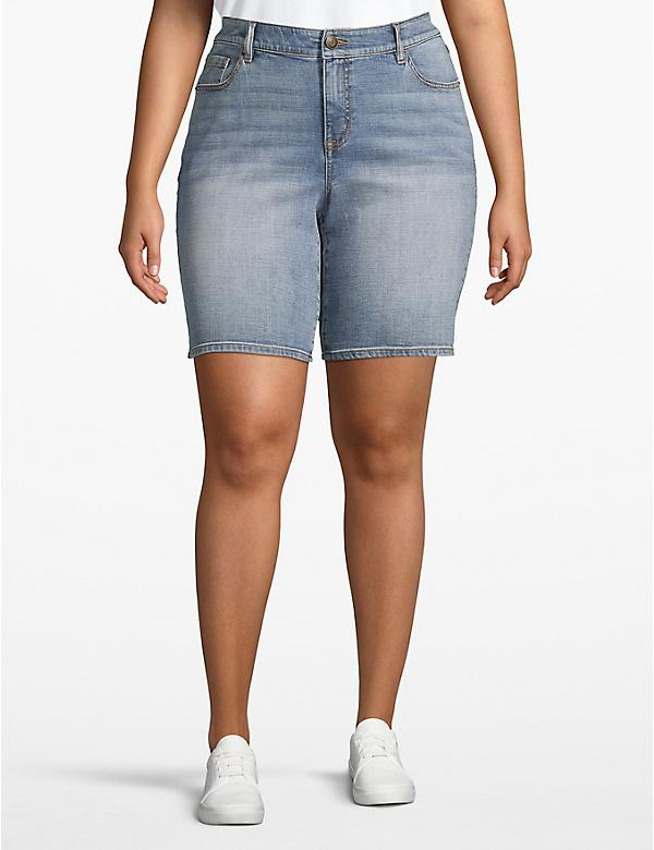 Venezia Bermuda Denim Short - Light Wash
