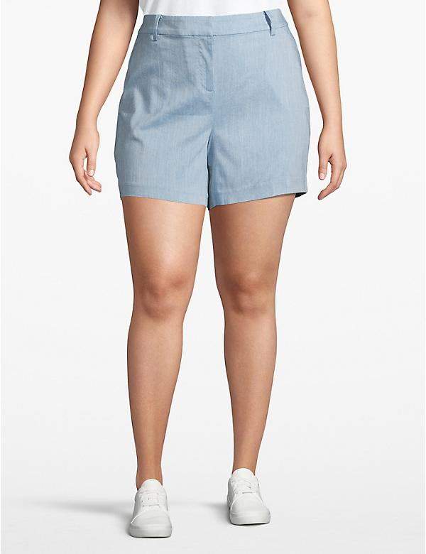Chambray Chino Short