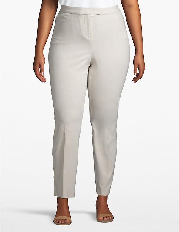Madison Ankle Pant - Textured