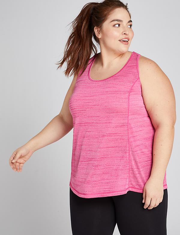LIVI Tank With Wicking - Draped Racerback
