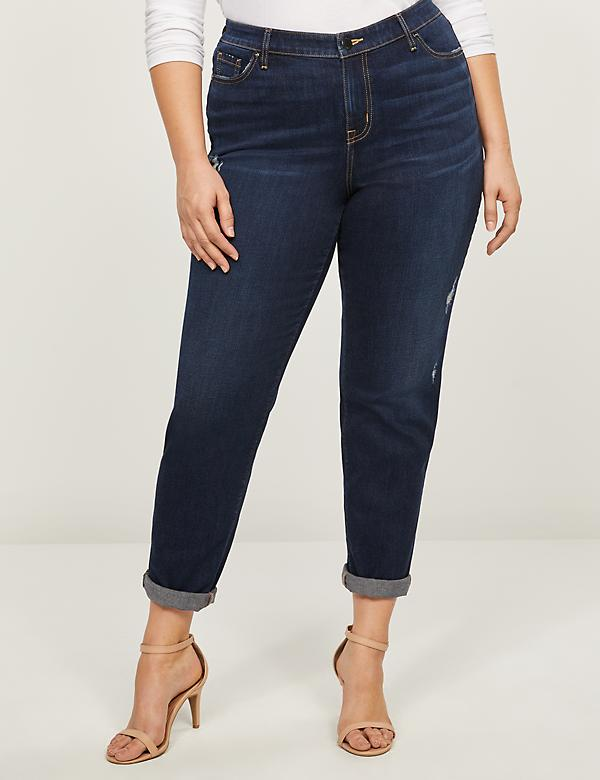 Boyfriend Jean - Dark Wash