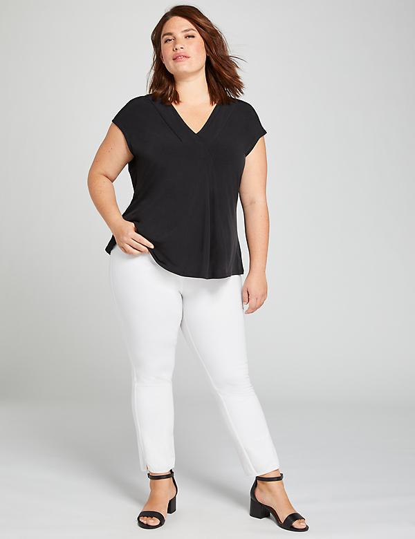 Deluxe Allie Smart Stretch Crop