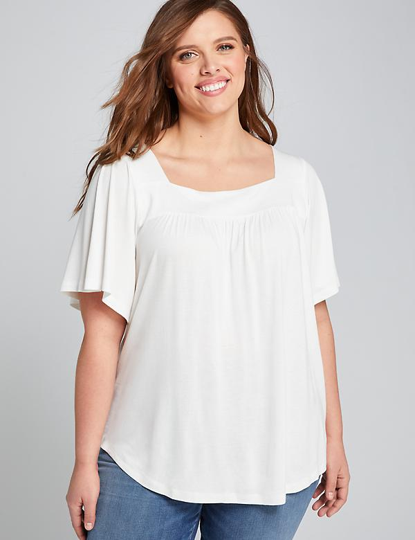 Square-Neck Swing Top