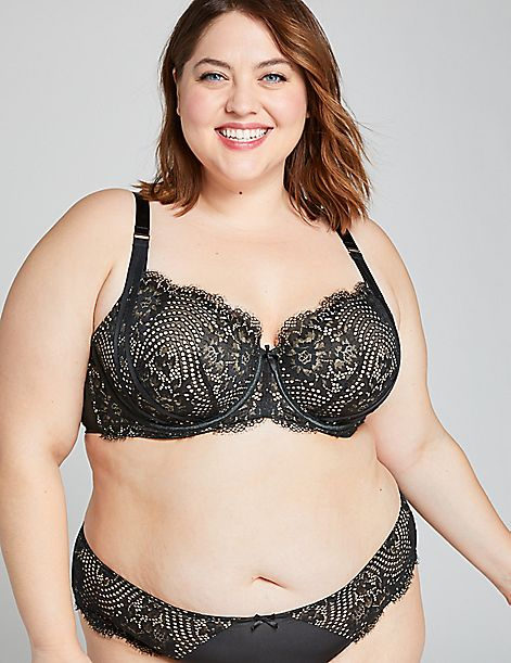 Lace Boost Balconette Bra