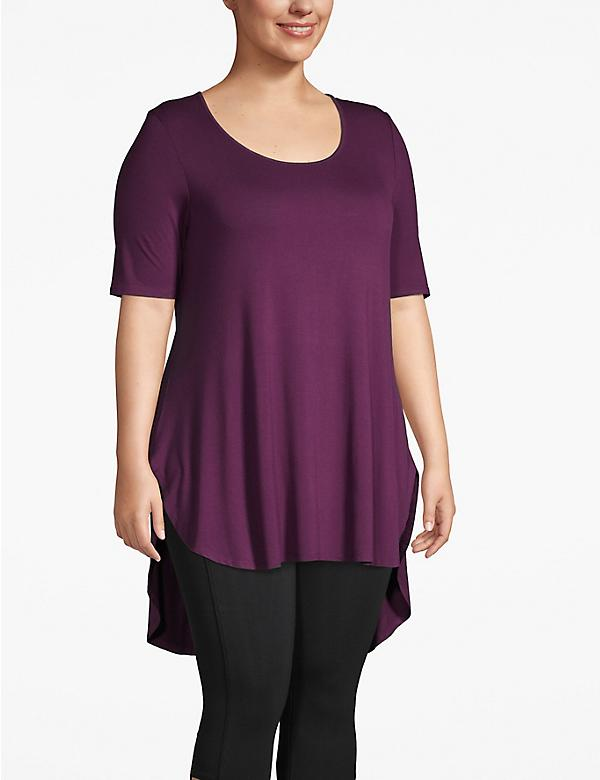 Active High-Low Tunic Tee