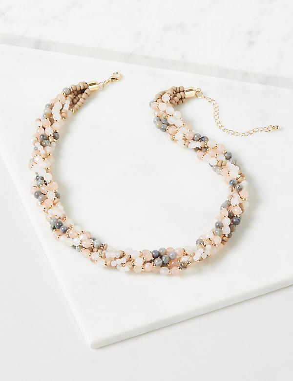 5-Layer Beaded Necklace