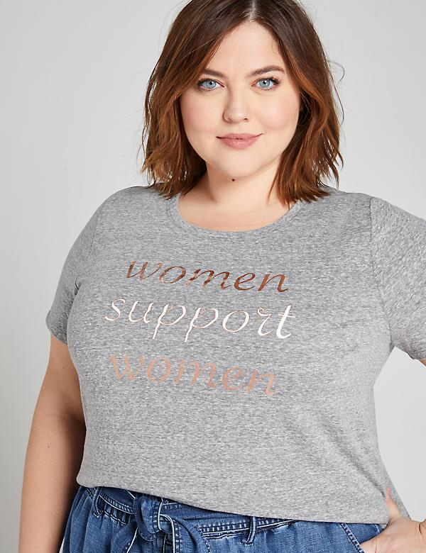 Women Support Women Graphic Tee
