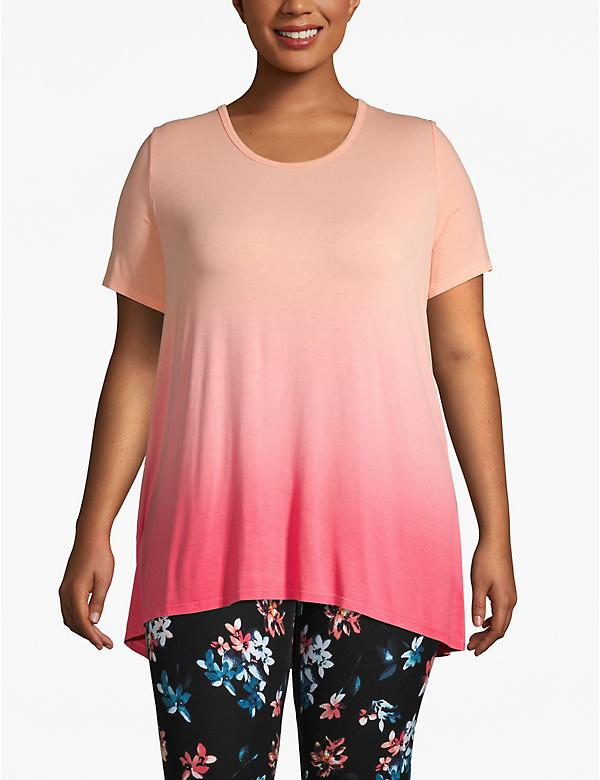 Active Dip-Dye Strappy Back Tee