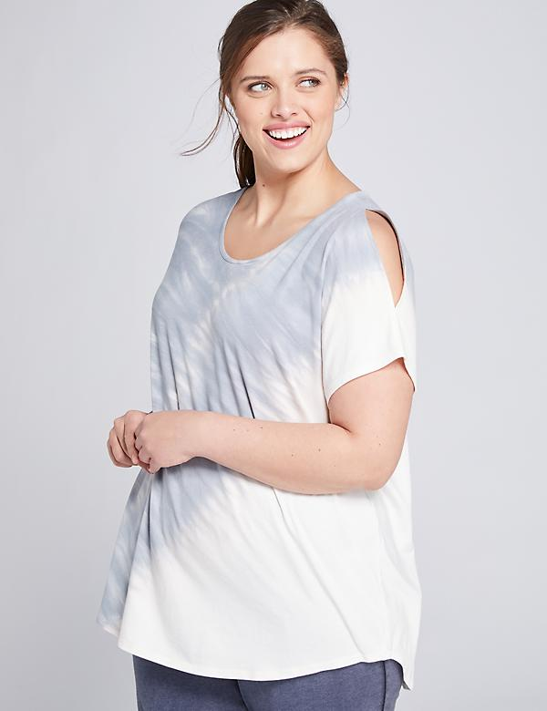 LIVI Cold-Shoulder Top