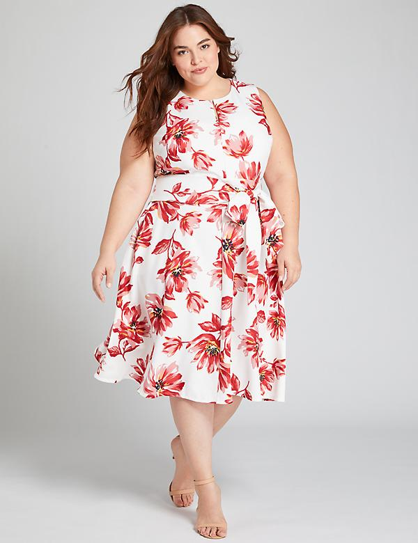 Floral Short Lena Dress