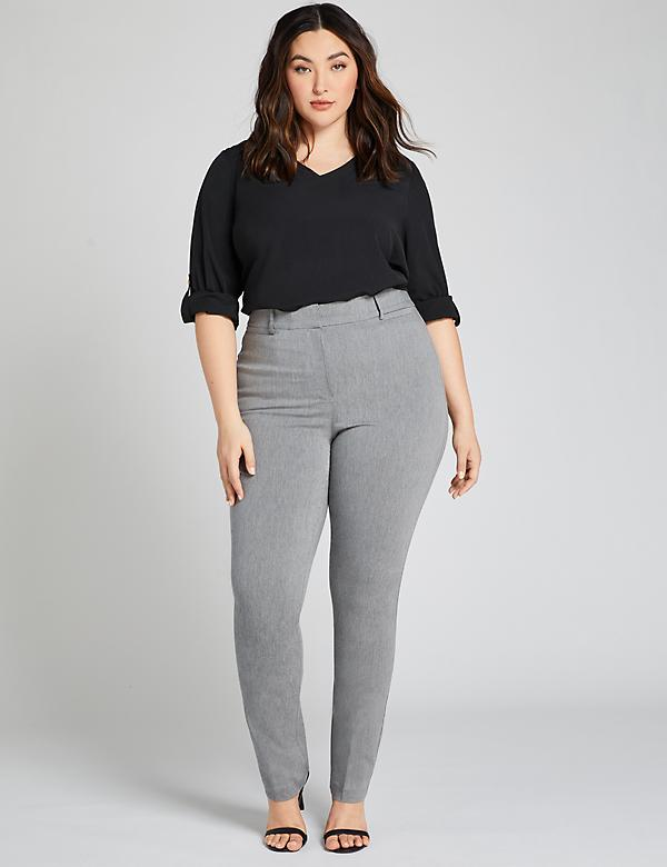 Power Pockets High-Rise Sexy Stretch Straight Pant