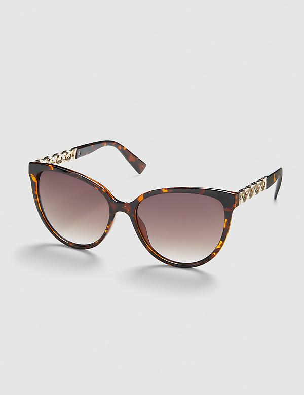 Embellished Cateye Sunglasses