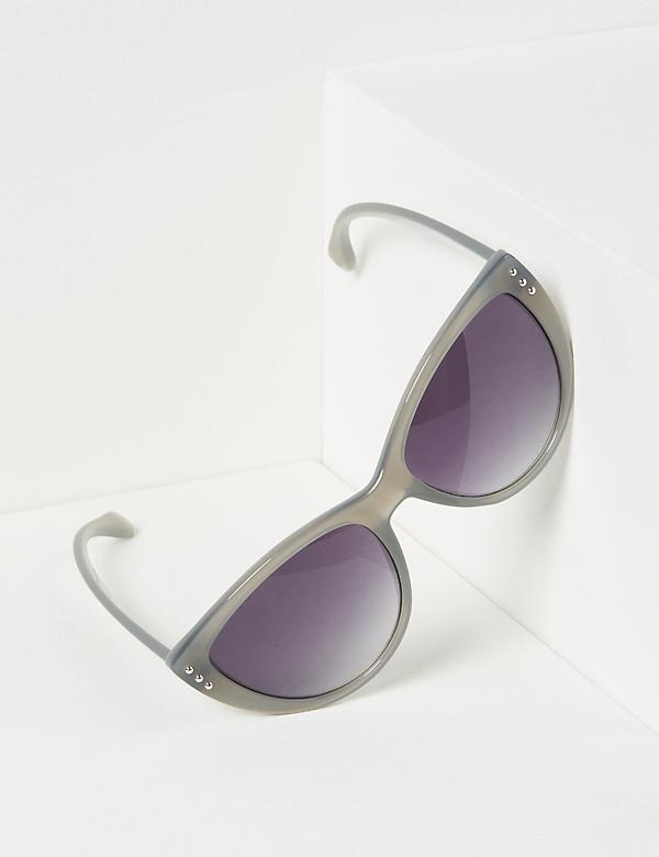 Gray Cateye Sunglasses