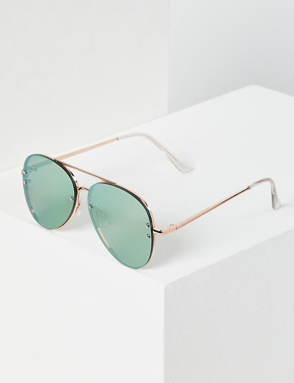 Mirrored Matte Classic Aviator