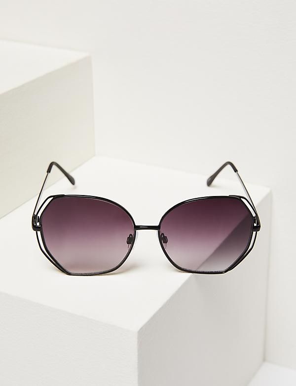 Double-Frame Butterfly Sunglasses