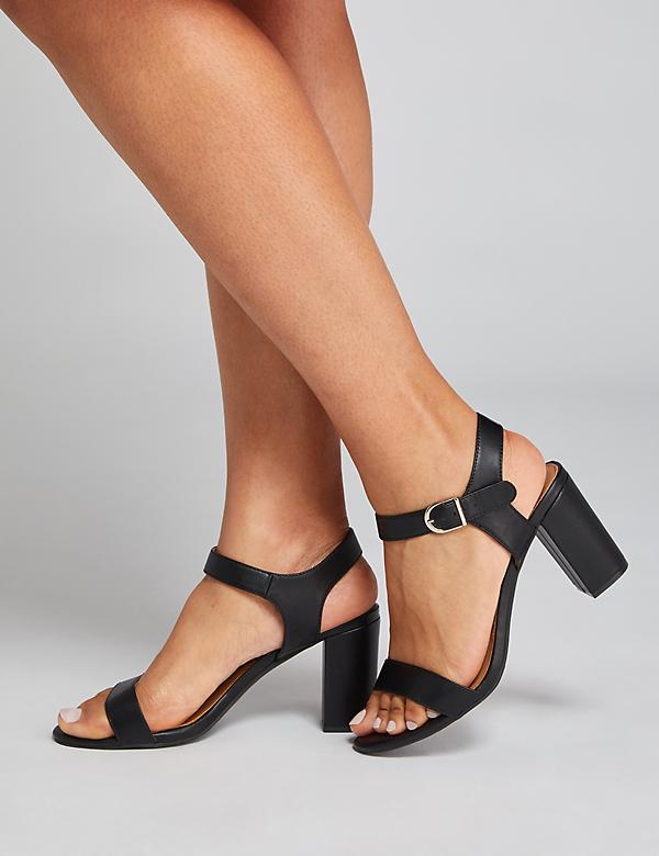 Tall Block Heel - Black