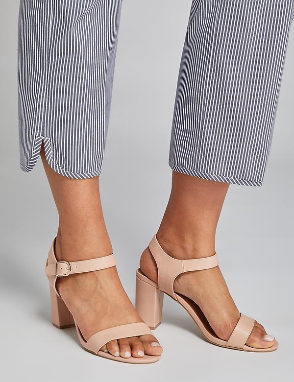 Tall Block Heel - Blush