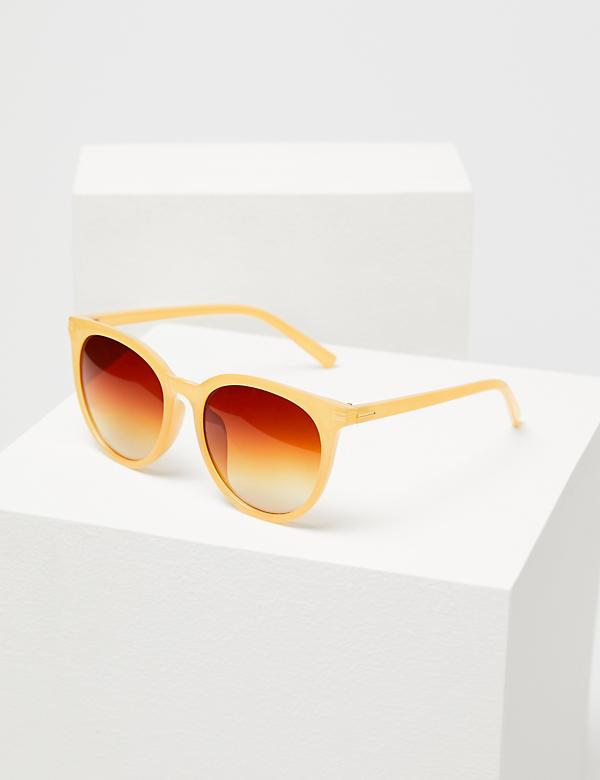 Round Sunglasses - Soft Yellow