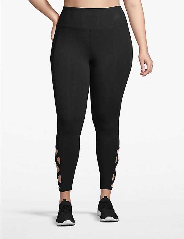 Active 7/8 Legging - Lace-Up Hem