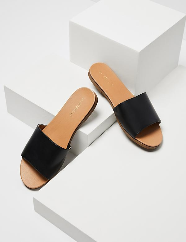 Single-Strap Slide Sandal