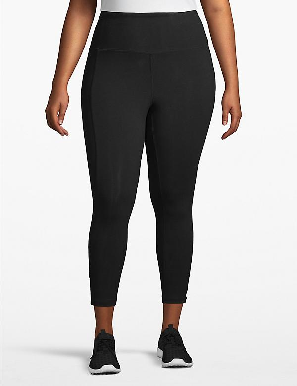 Active Capri Legging - Twisted Hem