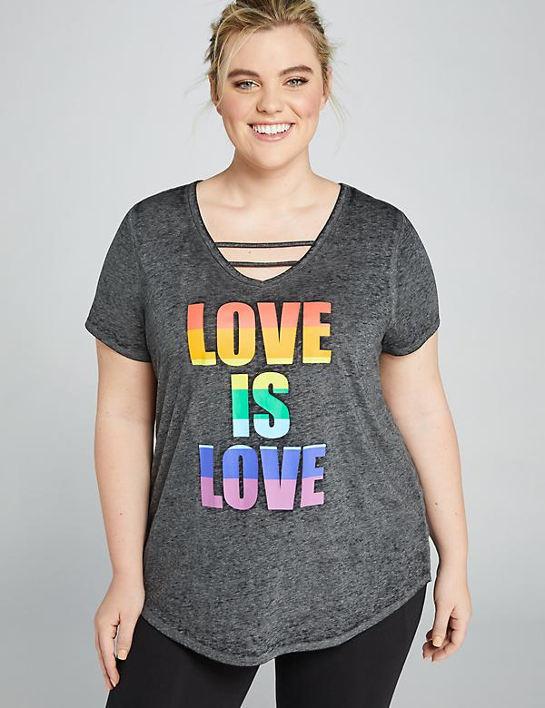 LIVI Love Is Love Graphic Tee